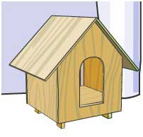 Build A Dog House With Free Plans