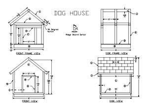 A Wooden Dog House