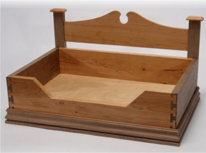 build wooden dog bed